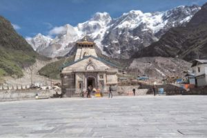 Many pilgrims visit Char Dham in Covid pandemic time