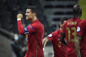 Nations League: Cristiano Ronaldo scores 100th international goal as Portugal beat Sweden