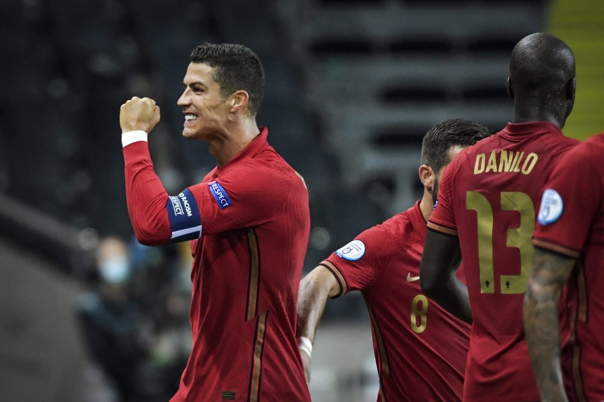 Nations League Cristiano Ronaldo Scores 100th International Goal As Portugal Beat Sweden