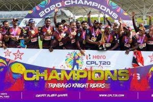 Lendl Simmons, Darren Bravo star as Trinbago Knight Riders lift Caribbean Premier League