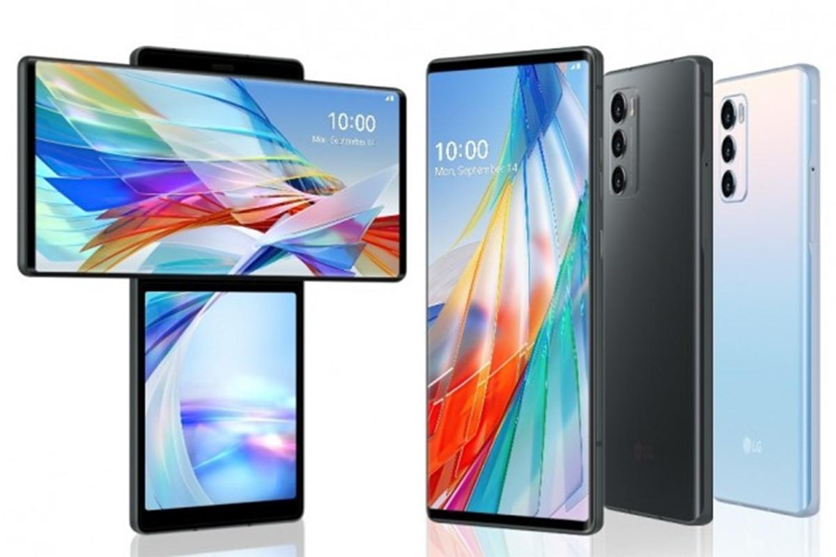 LG Wing, LG Smartphone, rotating-screen phone