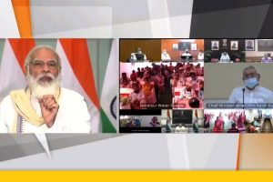 PM Narendra Modi inaugurates various projects under 'Namami Gange' yojana, 'AMRUT' yojana in Bihar
