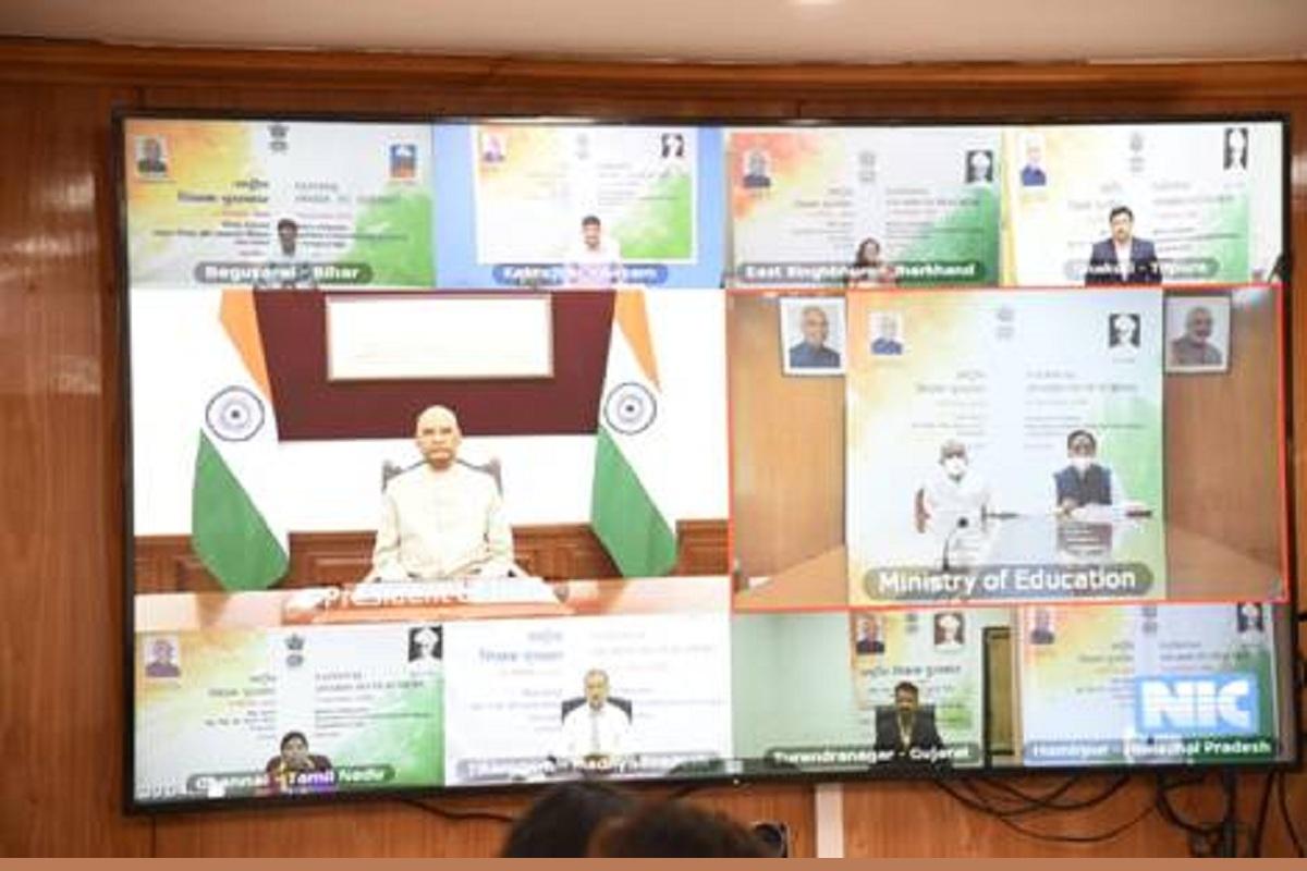Teachers' Day, Ram Nath Kovind, National Award, Ramesh Pokhriyal Nishank, National Education Policy
