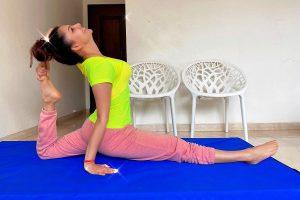 Urvashi Rautela showcases her 'warrior style workout'