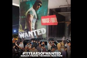 Salman Khan's 'Wanted' turns 11