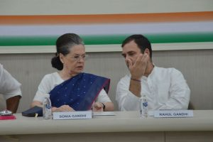 Congress, China making collective efforts to collapse Modi government: BJP