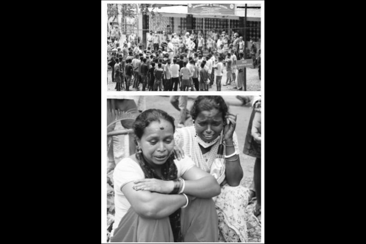 Tea garden workers, killed, Sukna, Forest Department, open fire,