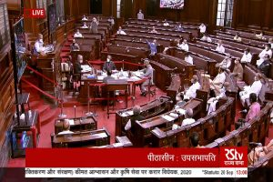 Farm bills passed by voice vote in Rajya Sabha amid unprecedented uproar, ruckus