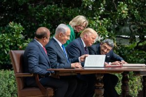 'Arab-Israel normalization deals serve Netanyahu, Trump'