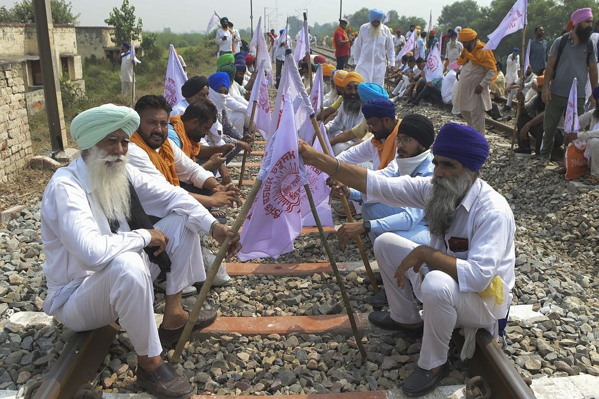 farmers unions, agriculture laws, Punjab,