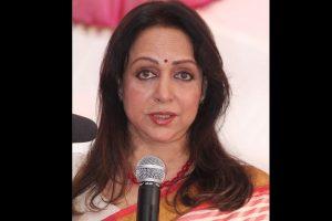 Hema Malini lauds UP CM Yogi Adityanath for Greater Noida film city project