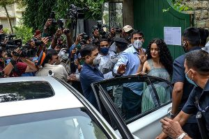 Kangana Ranaut flies back to Manali, says leaving Mumbai with 'heavy heart', after being 'terrorised'
