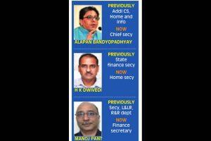 Bureaucratic reshuffle: Alapan Bandopadhyay new Bengal chief secy