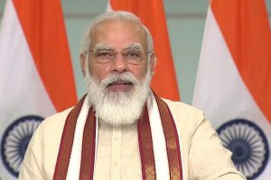 PM Modi addresses 'Grih Pravesham' event, interacts with beneficiaries under PMAY-G in MP