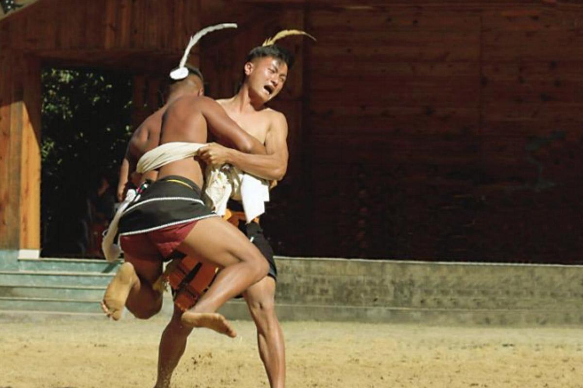 Wrestling, Naga, physical duel,