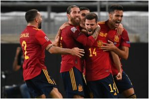 Spain snatch last-minute draw against Germany in UEFA Nations League