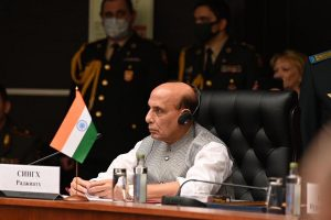 Open seas and respect for international law essential for IOR security: Rajnath
