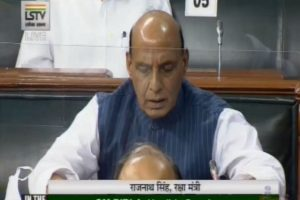 'Boundary issue with China unresolved, we want peaceful solution': Rajnath Singh in Lok Sabha