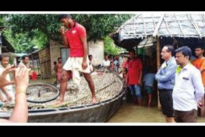 River waters flood villages in North, South Dinajpur