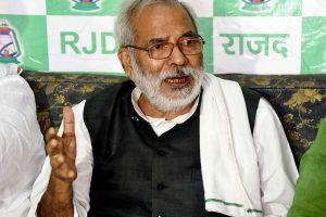 Raghuvansh Prasad Singh, who quit Lalu Yadav's RJD days ago, passes away at Delhi AIIMS