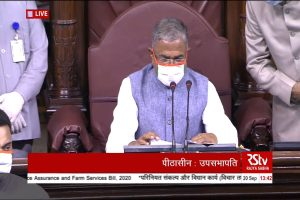 'Extremely anguished, distressed': Deputy Chairman of Rajya Sabha observes one-day fast