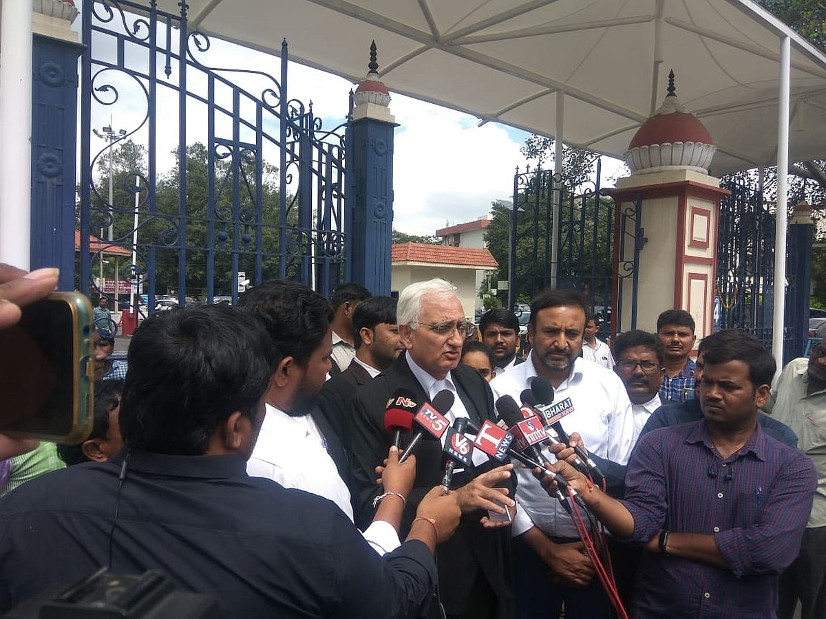 Congress leader Salman Khurshid named in police chargesheet in connection with Delhi riots case