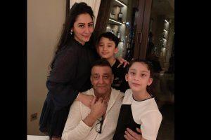 Sanjay Dutt reunites with kids in Dubai after months