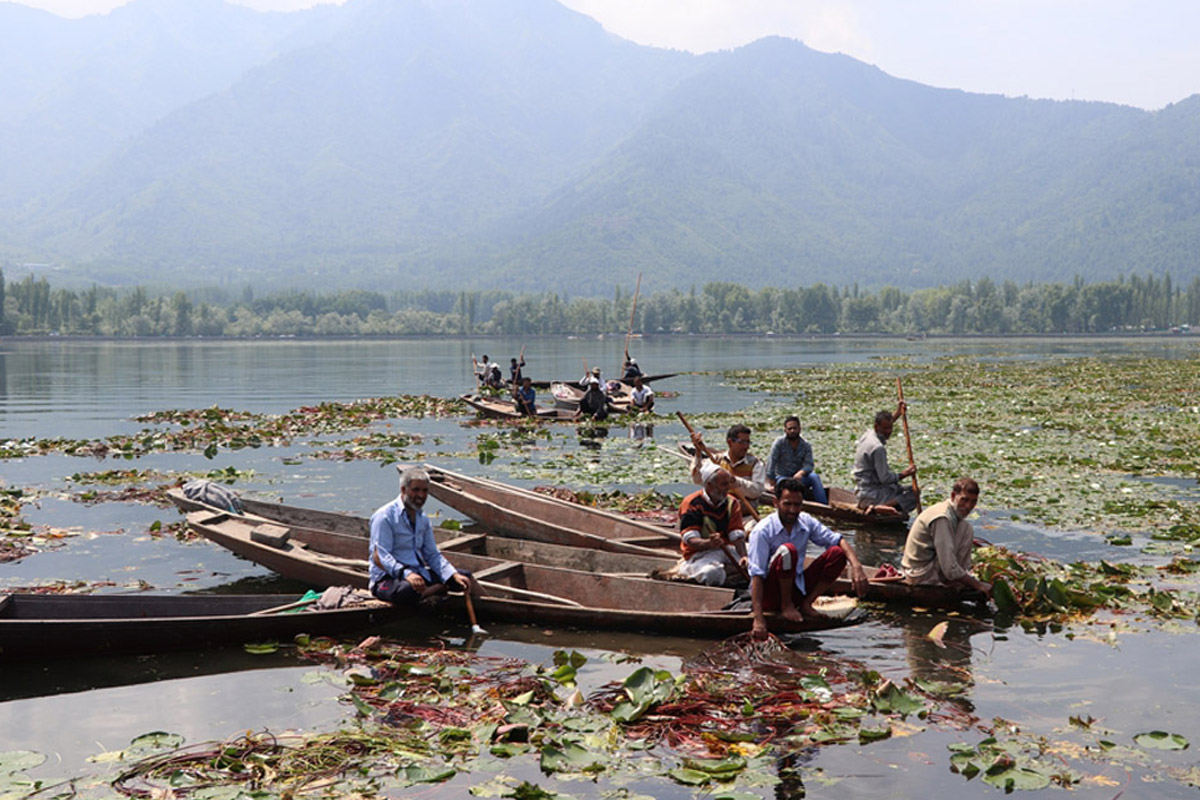 Lt. Governor Sinha, Dal Lake, Manoj Sinha