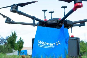 Walmart drone delivery pilots for online groceries and household goods