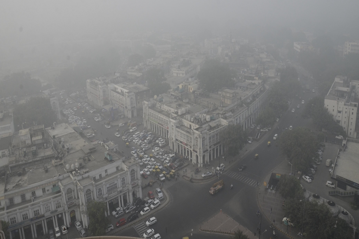 Delhi's air quality, AQI, Ministry of Earth Sciences, India Meteorological Department, IMD