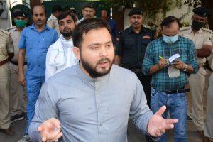 'If you have any real power, then arrest us': Tejashwi Yadav dares Nitish Kumar over farm bills