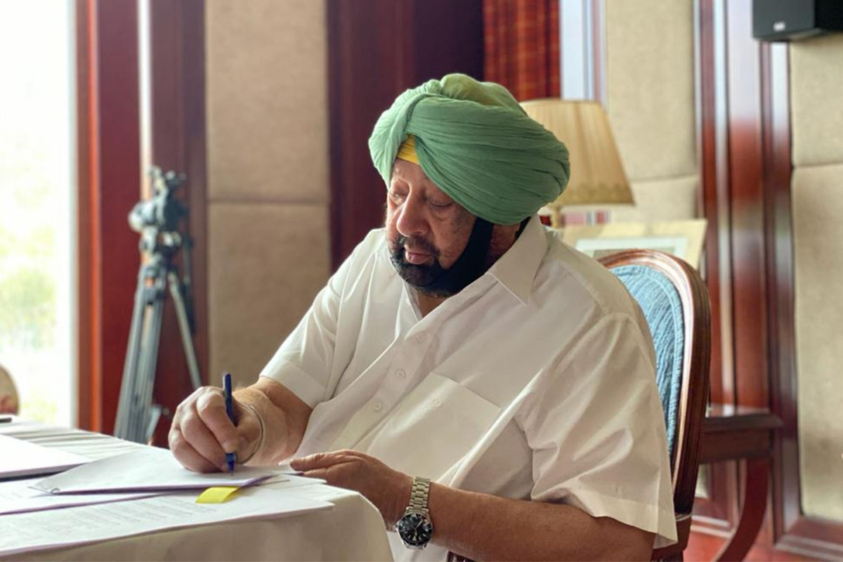 Farm laws: Amarinder welcomes Centre's bid to hold talks with farmers' unions