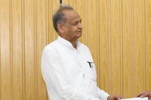 Ashok Gehlot attacks BJP for weakening anti-defection law