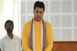 Hang pictures of Swami Vivekananda and BJP will rule for next 30 years: Biplab Kumar Deb