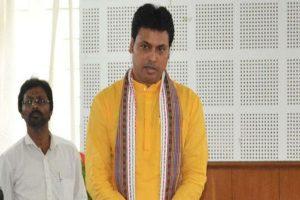 Tripura CM Biplab Kumar Deb tests COVID-19 positive