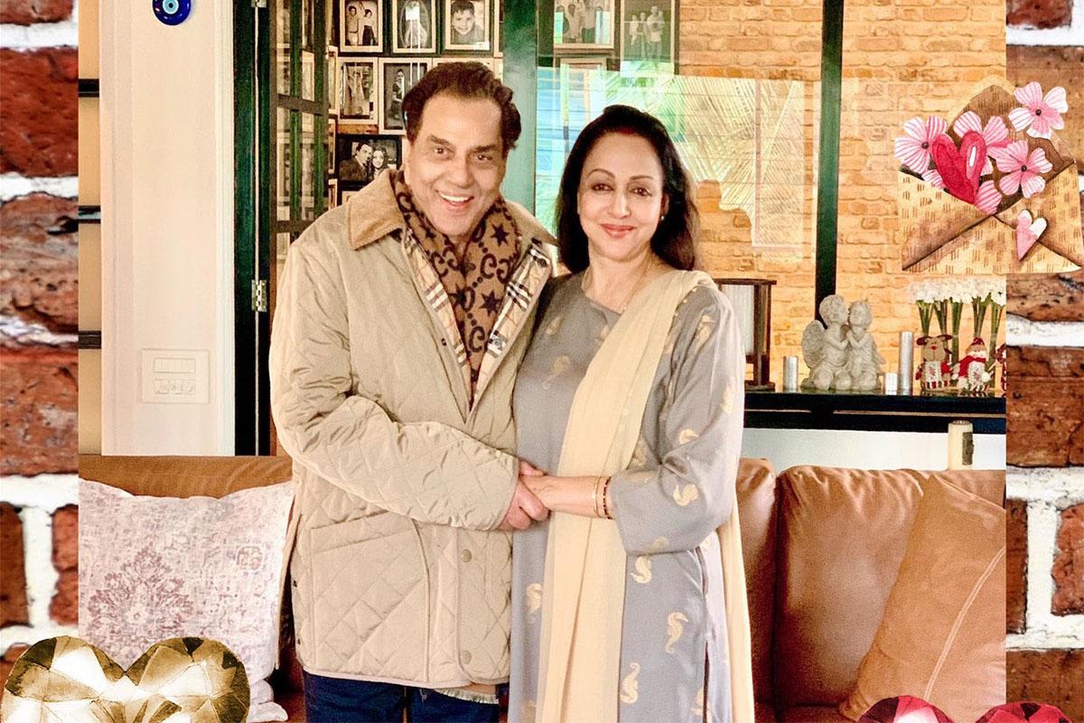 Hema Malini, Dharmendra, 72nd Birthday, Twitter