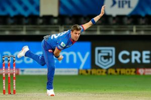 Delhi Capitals' Anrich Nortje bowls fastest delivery in IPL history, breaks Dale Steyn's record