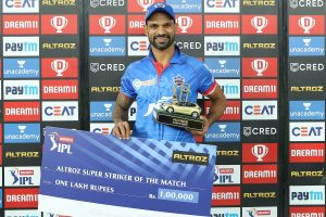IPL 2020: Shikhar Dhawan pleased after helping Delhi Capitals win with maiden century