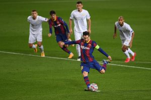 Champions League: Barcelona thrash 5 goals; Manchester United win late against PSG
