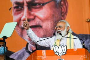 Do not vote for those who brought 'jungle raj' in Bihar: PM Modi at rally in Darbhanga
