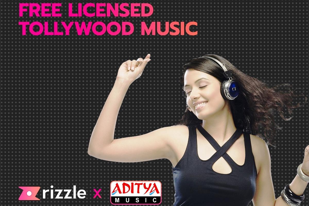Rizzle, Aditya Music, short video platform, Tollywood, Allu Arjun, Mahesh Babu, Pooja Hedge, Pavan Kalyan