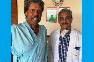 Kapil Dev discharged from hospital after angioplasty