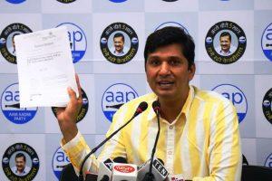 BJP behind comments of Kapil Mishra, alleges AAP; asks for Mishra's apology through social media