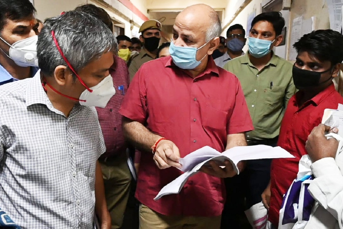 Manish Sisodia, construction workers, Delhi, Construction Board, Delhi Government