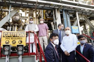 Delhi Transport Minister Kailash Gahlot inaugurates HCNG plant and dispensing station