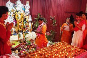 Durga Puja celebrations in Delhi