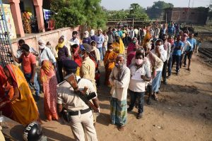 Bihar Elections: 46.29% voting recorded till 3 pm