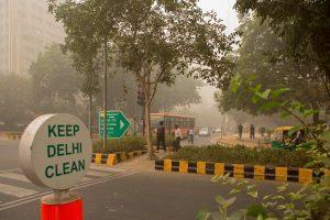 Delhi air quality 'moderate'