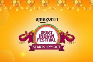 Amazon to kick off its 'Great Indian Festival' sale from Oct 17