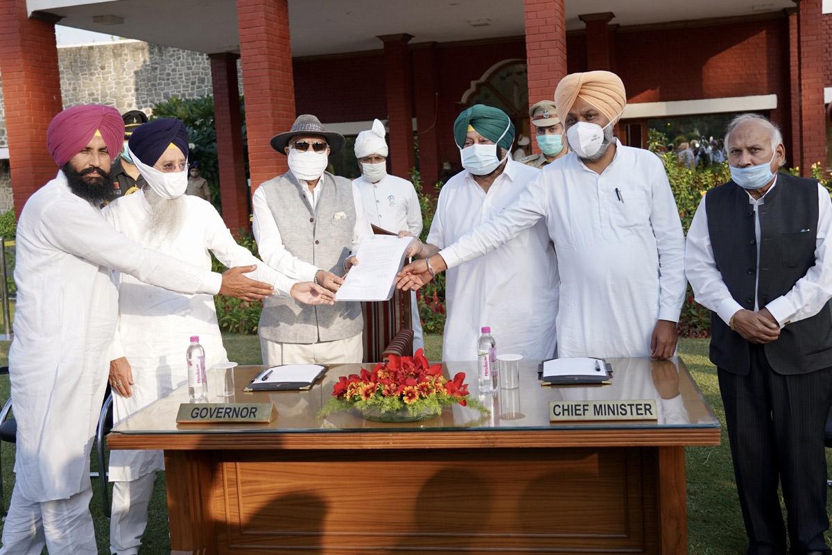 farmers, Amarinder Singh